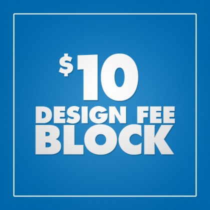Design Fee Block