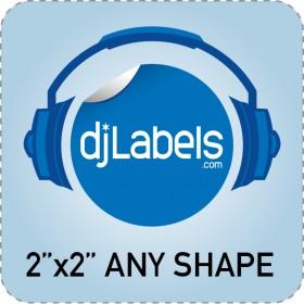 """2""""x2"""" Custom Die-Cut Vinyl Stickers"""