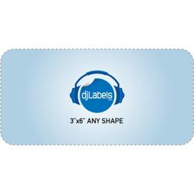 """3""""x6"""" Custom Die-Cut Vinyl Stickers"""