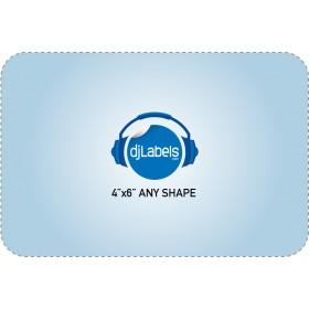 """4""""x6"""" Custom Die-Cut Vinyl Stickers"""