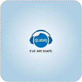 """6""""x6"""" Custom Die-Cut Vinyl Stickers"""